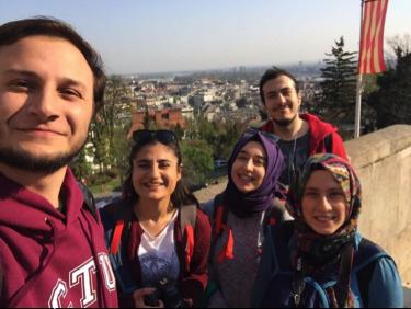 Abdullah Gül University, AGU, students, Erasmus, student Exchange, Czech Tech Uni