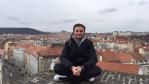 Czech Republic, Prague, Erasmus student from Turkey, Vyšehrad