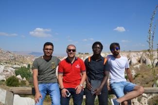 Abdullah Gül University, AGU, international students, orientation program, Cappadocia